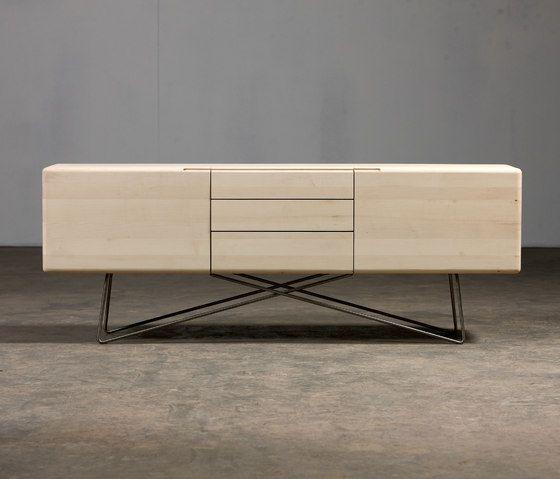 meuble rangement, buffet contemporain, Linea, Artisan
