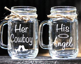 Her cowboy; His angel