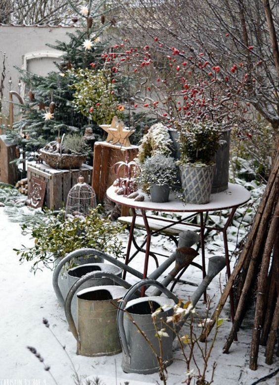 27 Most Beautiful Winter Garden Ideas That You Will Miss Now | Home Design And Interior