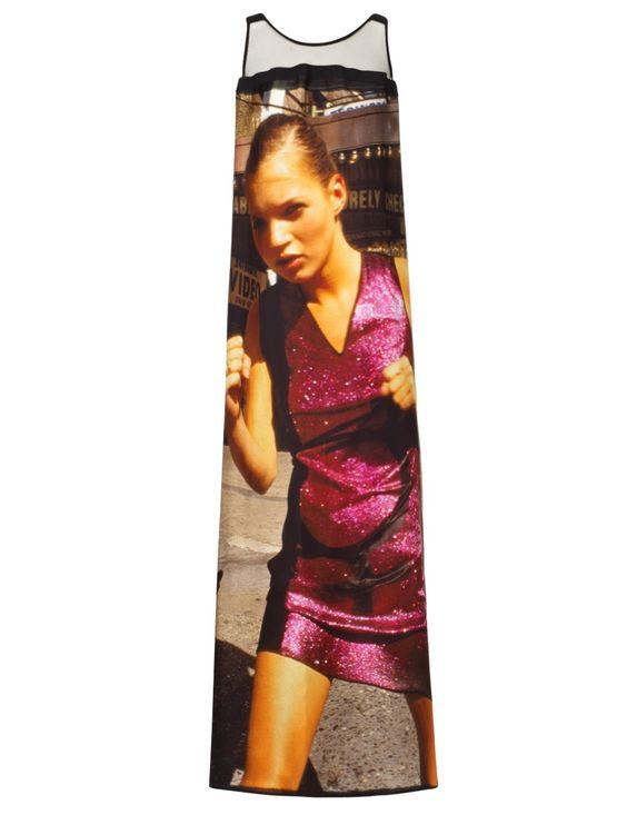 Black Silk Kate Moss Long Dress | Giles | Avenue32