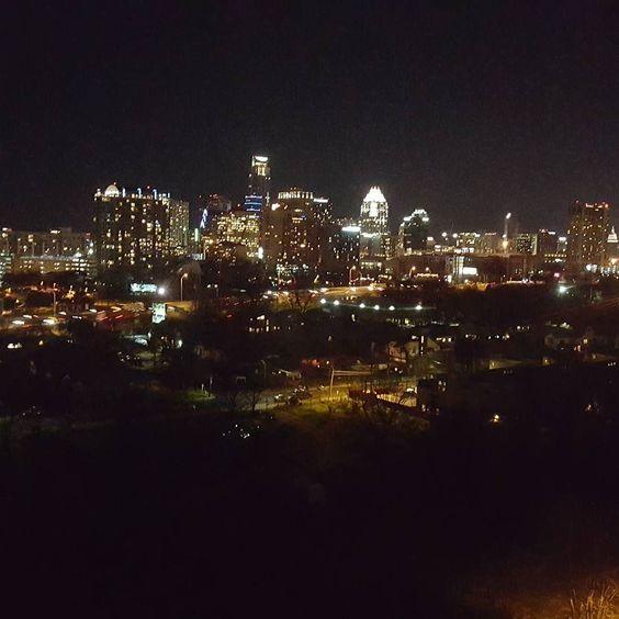 My view last night.  by whitecrayon69