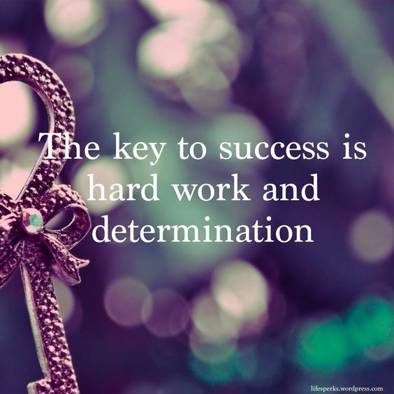 Essay on determination is the key to success