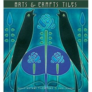 The arts and crafts movement great calendar by the for Arts and crafts tiles