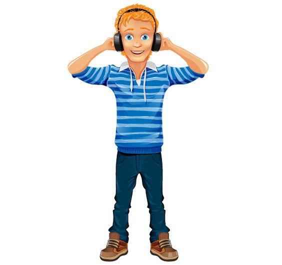 Free Boy Vector Character Cartooncharacter