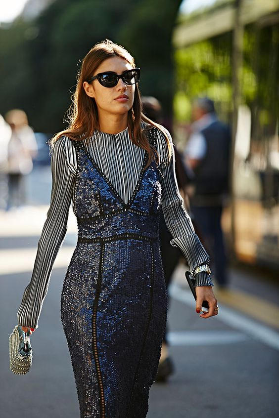 Неделя моды в Милане, весна-лето 2017: street style. Часть 2 (фото 11)