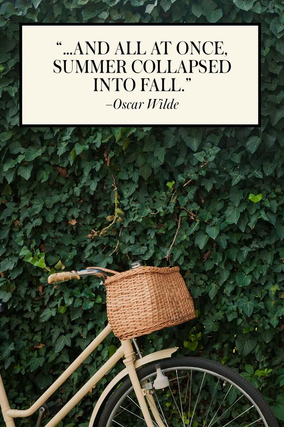 15 Best End of Summer Quotes - Beautiful Quotes About the Last Days of Summer