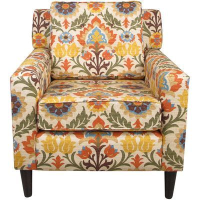 Bungalow Rose Monica Adobe Arm Chair
