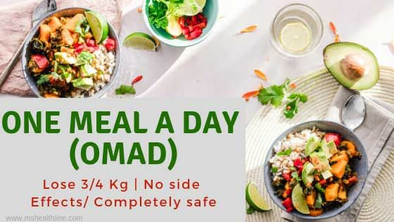 one meal a day on hcg diet