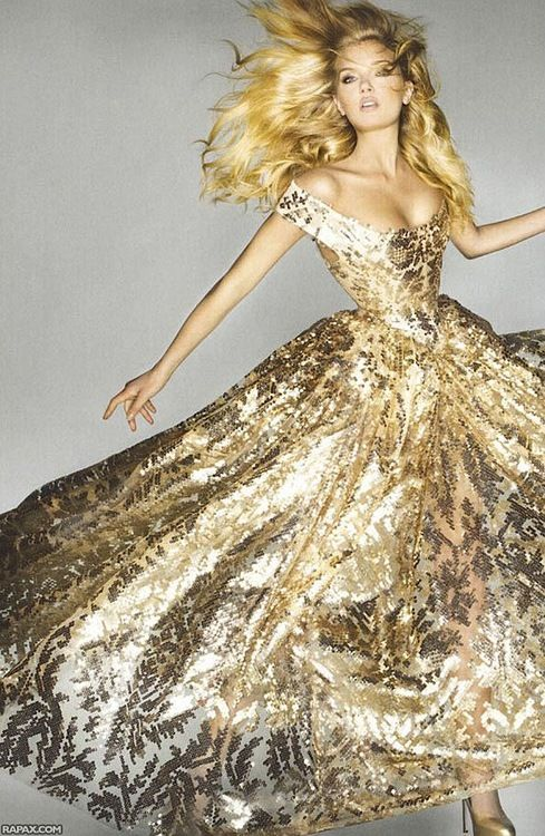 Lily Donaldson for Vogue UK Sept 2012 by Nick Knight