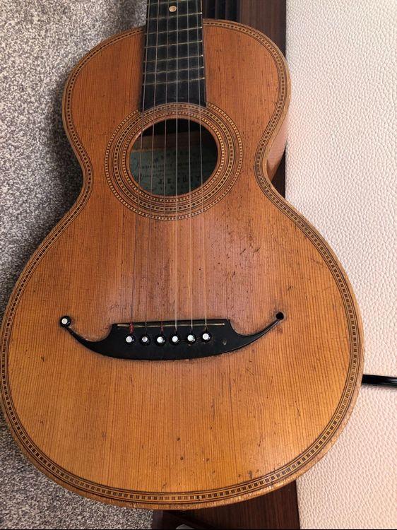 Antike Gitarre Kaufen Auf Ricardo Ch Gitarre Kaufen Gitarre Antike