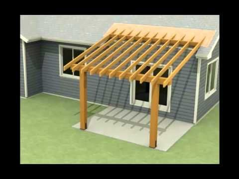 ▷ Design Of A Roof Addition Over An Existing Concrete Patio In Bozeman, MT  Part 1   YouTube | Backyard Inspiration | Pinterest | Patios, Concrete  Patios ...