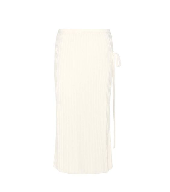 HELMUT LANG Ribbed wool skirt. #helmutlang #cloth #skirts