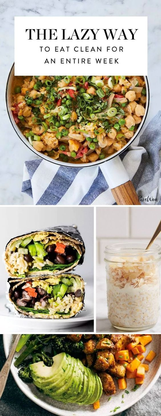 How to Eat Clean for All 21 Meals This Week (Even If You're Lazy)