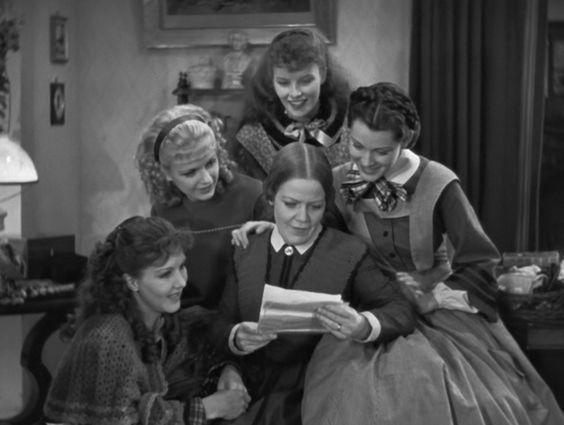 Little Women 1933 Katharine Hepburn Joan Bennett
