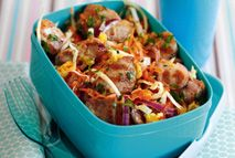 Griddled mango chicken with coleslaw – Recipes – Slimming World