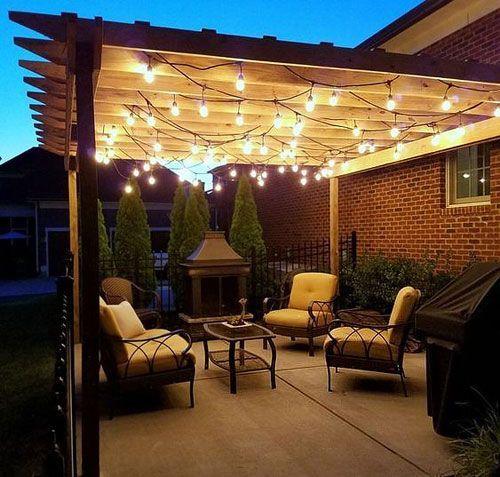 Eclairage Led Pergola 3 Solutions Pour Illuminer Votre Terrasse Decoration De Terrasse Exterieure Eclairage Exterieur Terrasse Pergola Terrasse