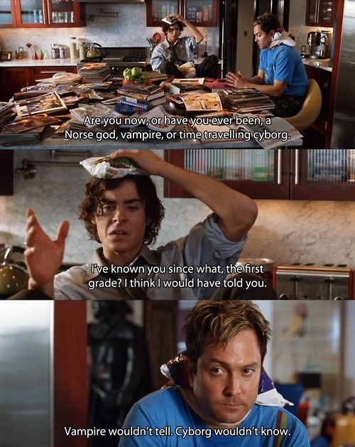 I can quote every like of this scene and of this movie. I'm not even exaggerating.