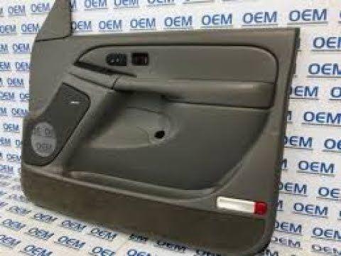 How To Remove A 2002 Chevy Silverado Door Panel 2002 Chevy Silverado Chevy Silverado Silverado