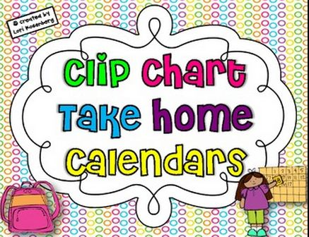 FREE Clip Chart behavior recording sheet for each month of the year
