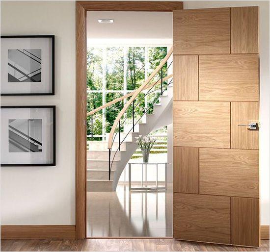 Modern Flush Door Designs With Glass Mica For Indian Homes Flush Door Design Interior Door Styles Bedroom Door Design
