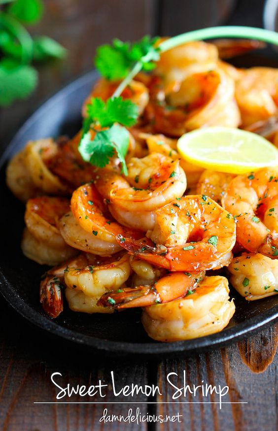 Sweet Lemon Shrimp   23 Easy Dinners You Can Make With Five Ingredients