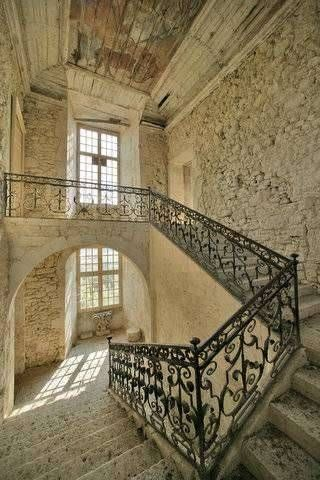 15th century castle, Aquitaine, France. This is up for sale....any bidders? FW