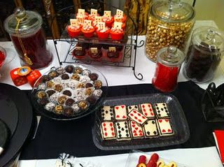 Casino Food Ideas Parties Pinterest Tables Food