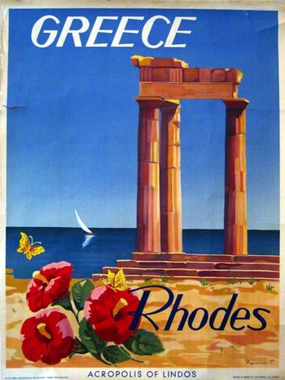 Greece - spent two weeks on Rhodes, spectacular