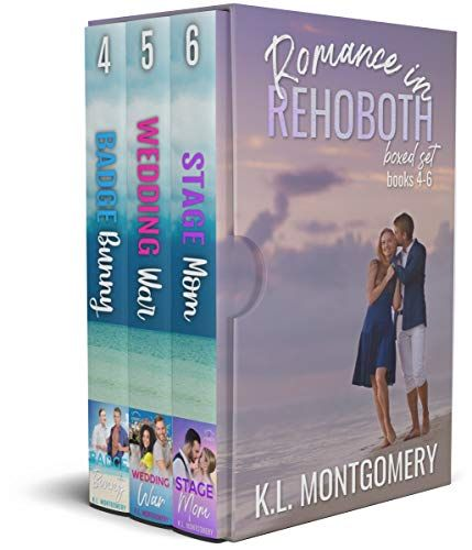 5 Stars Romance in Rehoboth Boxed Set (Books 4-6): A Small Town Romantic Comedy Series by K.L Montgomery is a really fun read- and great value for money. Three books in one #WINNING!!! The boxed set contains Badge Bunny (Book #4), Wedding Wars (Book #5) and Stage Mon (Book #6)- all are full-length, standalone stories, and each book centres on its own particular characters/couple. The stories are all set against the backdrop of Rehoboth Beach, Delaware. Follow the link for my full review.