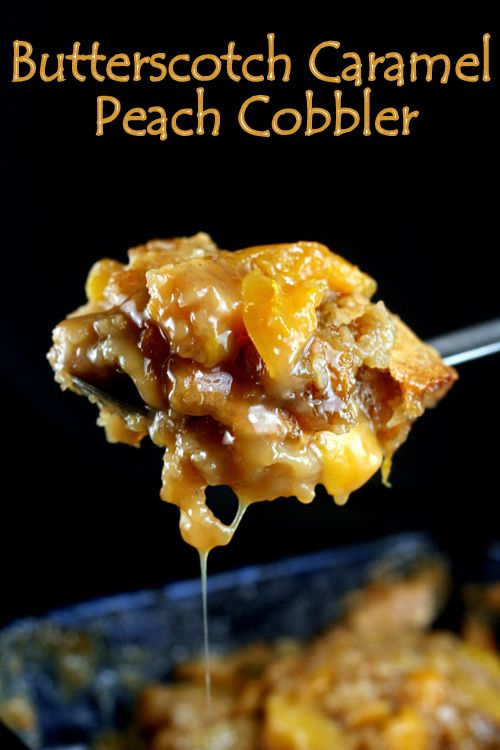 Cobbler, Peach cobblers and Peaches on Pinterest