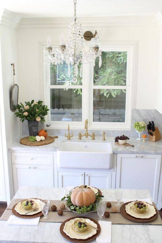 bHome Fall Tour – Kitchen Reveal & Fall Decor
