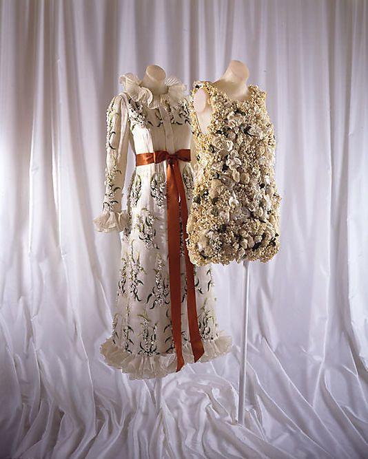 Evening dress 1968-69 Valentino