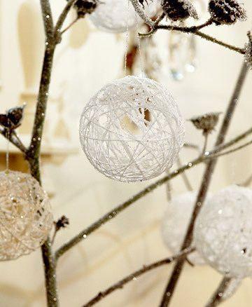 Como hacer adornos nevados para el arbo de navidad | Todo Manualidades