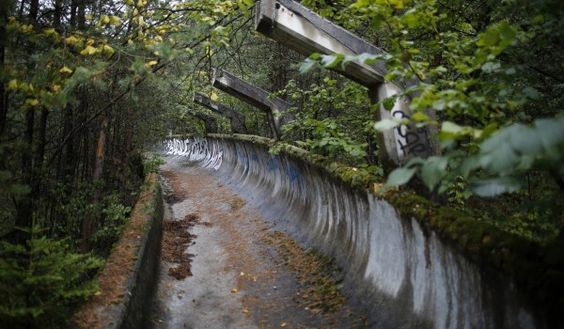 Haunting Photos of the Abandoned 1984 Winter Olympics Facilities. photo courtesy of Viral Forest