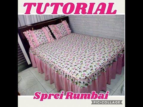 Tutorial Cara Menjahit Sprei Rumbai Atau Rempel Ala Zigmarie Homeset Spreirempel Sprei Rumbai Youtube Bed Spreads Bed Bed Covers