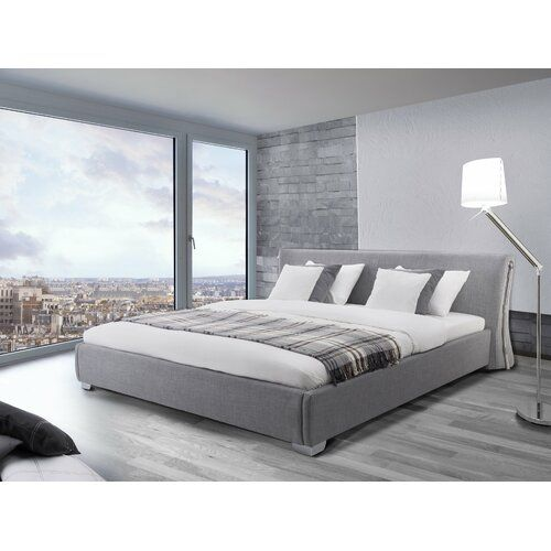 Day European Double 140 X 200 Cm Upholstered Bed Frame Metro