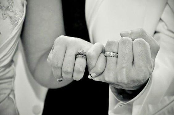 Scarpaci photography, wedding pinky promise