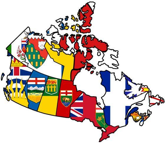 provincial map of canada Google Search socials – Map Provinces of Canada