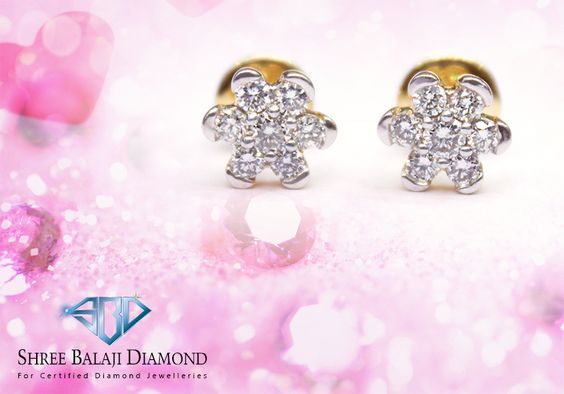 Embrace your unique beauty with this sparkling diamond earring. 14K white gold with 0.77 ct Belgium cut diamonds.