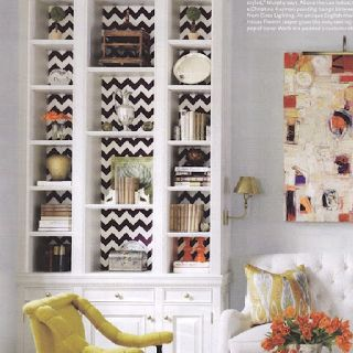 http://beautifullivingstyle.blogspot.com/2012/05/spice-up-your-bookcase.html