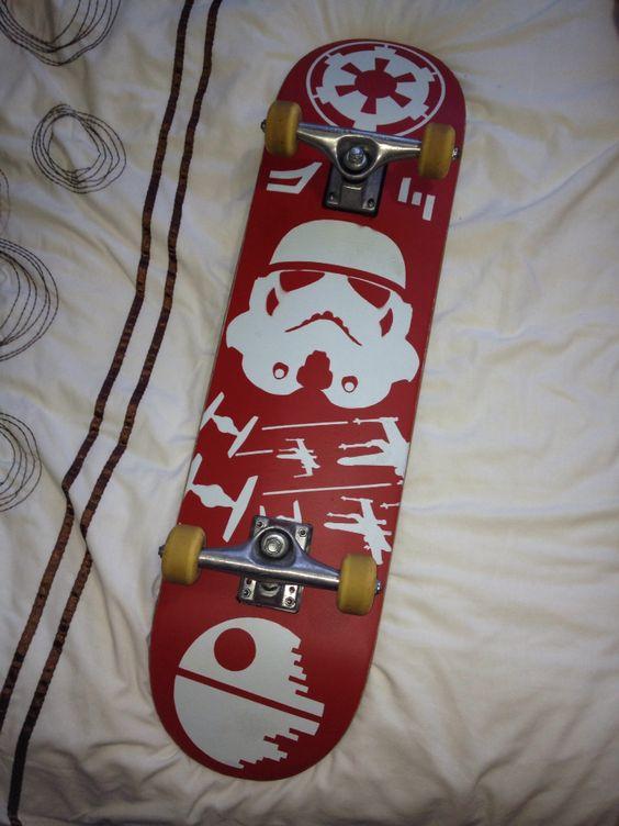 Star Wars inspired deck design