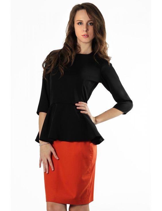 Zega Store - Fusta Zega Limited Edition, culoarea portocalie - Femei, Fuste