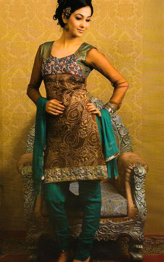 Short Kurti with salwar indian wedding outfit
