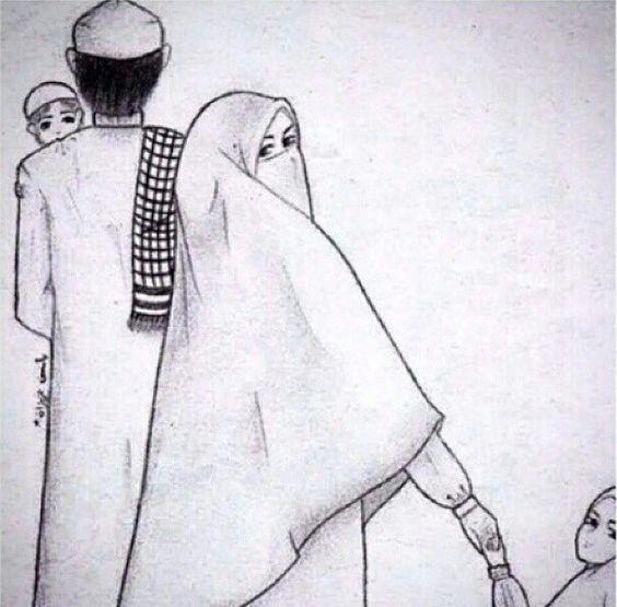 Kumpulan Gambar Kartun Muslimah 18