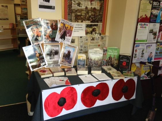 War and Words at Warlingham Library