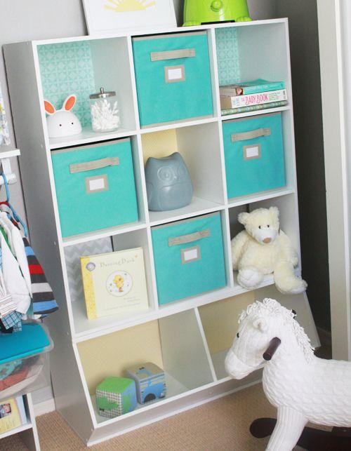 Perfect Nursery or Kids Room DIY: Revamping Storage Units