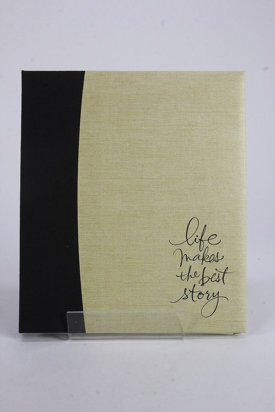 Hallmark Scrapbook Photo Album 'Life Makes The Best Story' & 10 Archival Pages