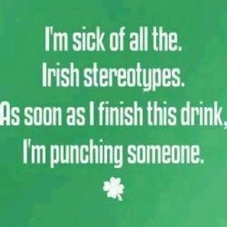 To prepare for St Paddy's day...