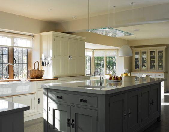 Derbyshire stone residence handmade kitchens for Bespoke kitchen cabinets