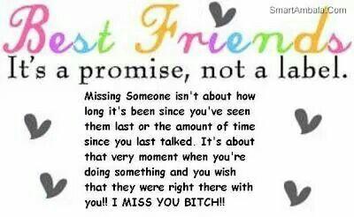 Best Friends....I miss you bitch!